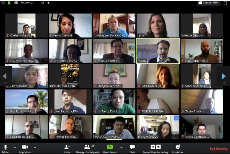 1st Virtual Meeting