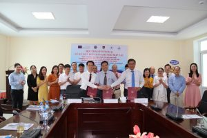 TRUST Project University Partners in Vietnam Hold Fintech Conference, MOU Signing Ceremony