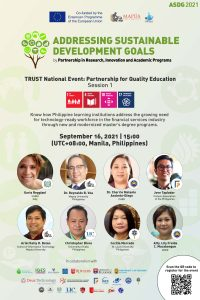 TRUST National Event: Partnership for Quality Education